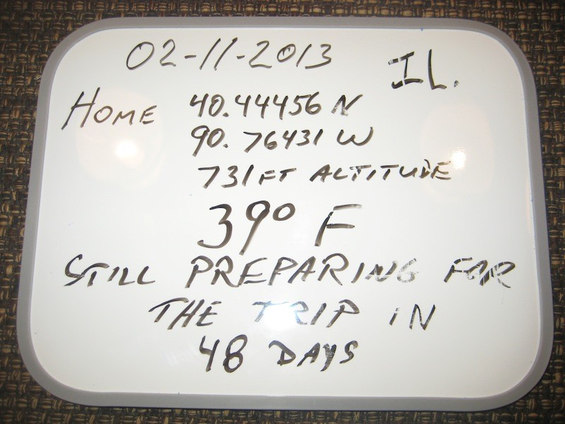 February 11th, 2013 – Whiteboard